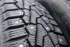 Шипованные шины: свойства и типы