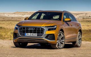 2019 Audi Q8, тест драйв новой Ауди Ку8 (Off-Road Test)