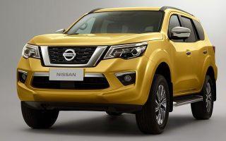 Ниссан Х Терра – Nissan представил новый внедорожник Nissan Terra