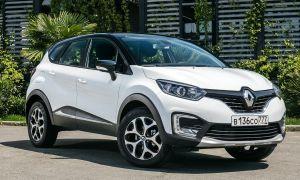 Renault Kaptur новый кроссовер