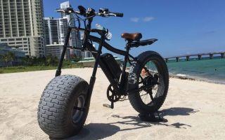 Полноприводный электрический Fatbike (Фэтбайк ) Xterrain500