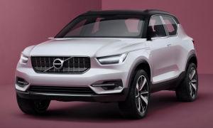Volvo XC40 2018 фото, видео, цена Вольво ХС40