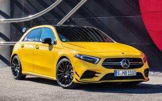 Новый Мерседес Бенц (2019 Mercedes A 35 AMG), официальная премьера