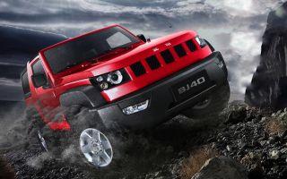 УАЗ не для НАС! BAIC BJ40 SUV 2018 китайский Джип Вранглер