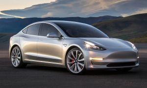 Tesla Model 3 начал серийно выпускаться компанией Тесла