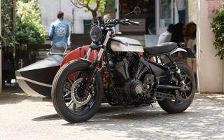 Мотоцикл Deus Yard Built XV950 «D-Side»