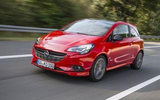 Opel Corsa S новый вариант Опель Корса
