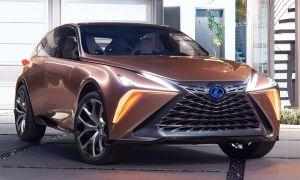 Lexus LF-1 Limitless Concept в роли прототипа Lexus LX