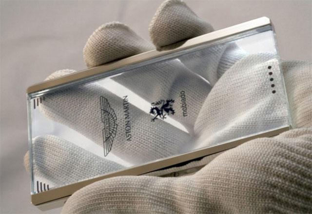 Ключ зажигания Aston Martin