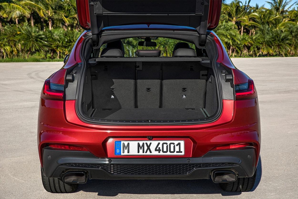 БМВ Х4 багажник