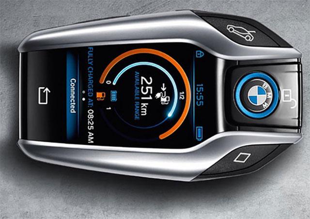 автомобильный ключ BMW i8
