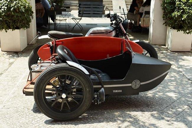 Deus Yard Built XV950 пассажирская коляска