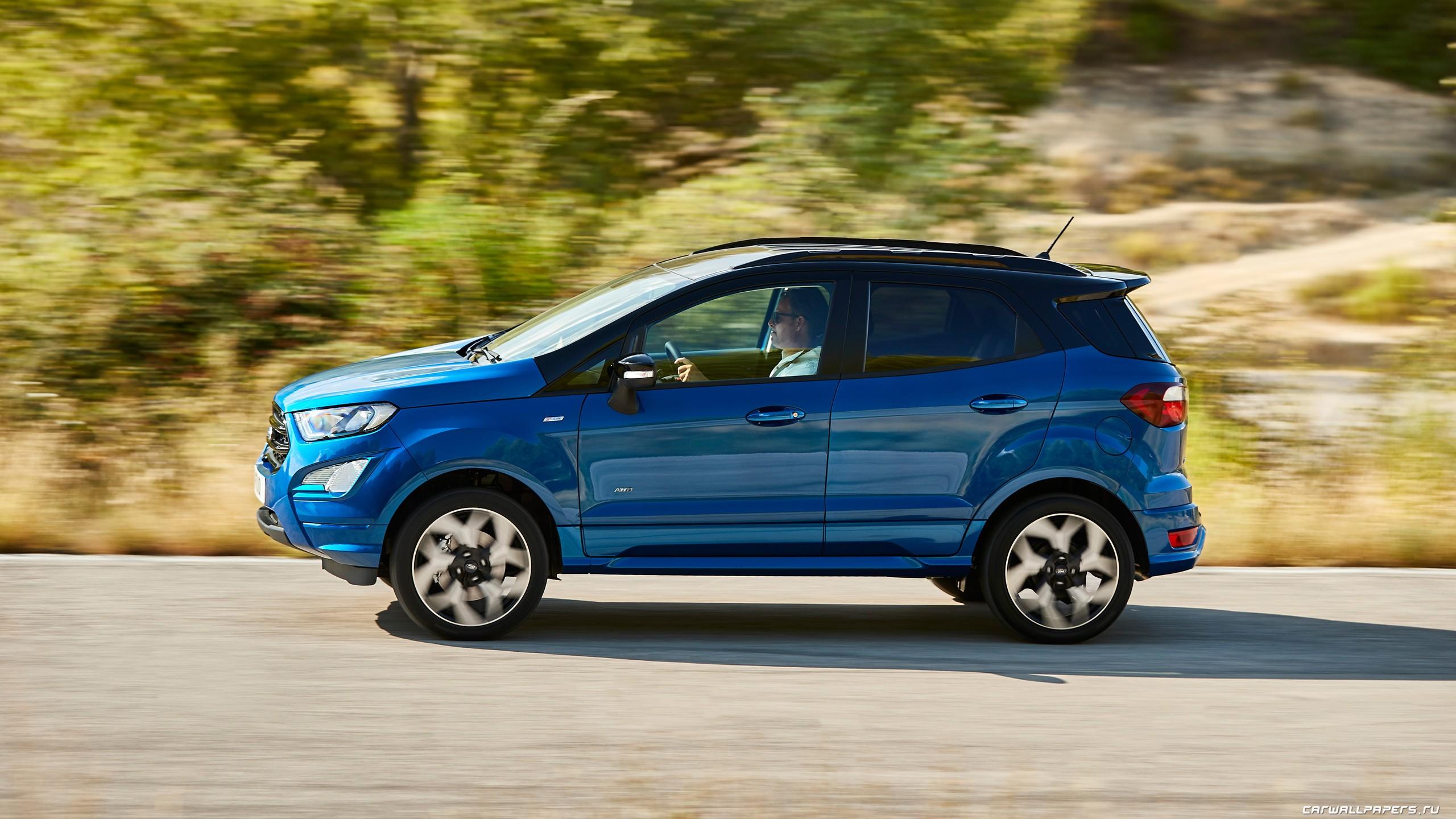 Ford EcoSport вид сбоку