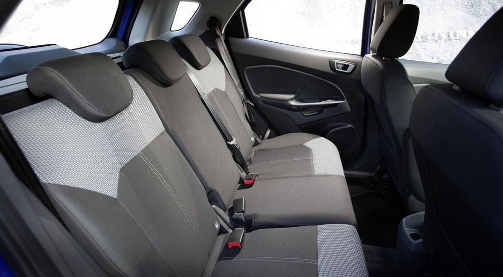 Ford EcoSport задние сидения