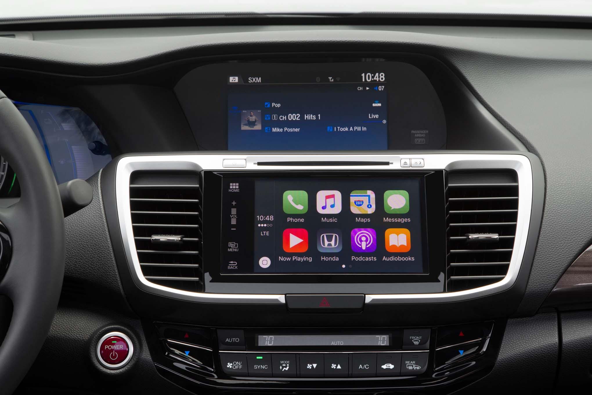Honda Accord Hybrid салон