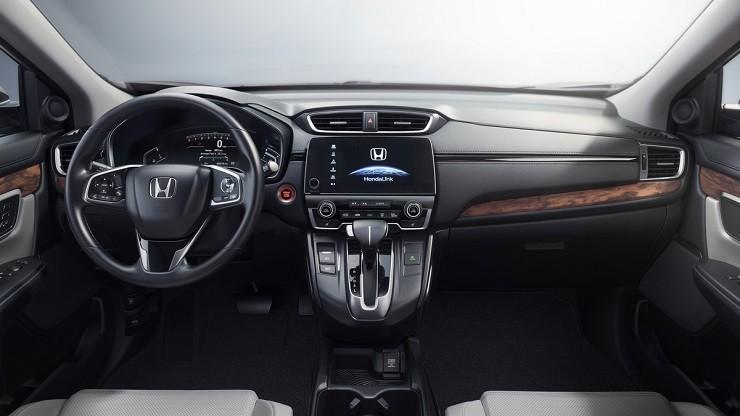 Honda CR-V приборная панель