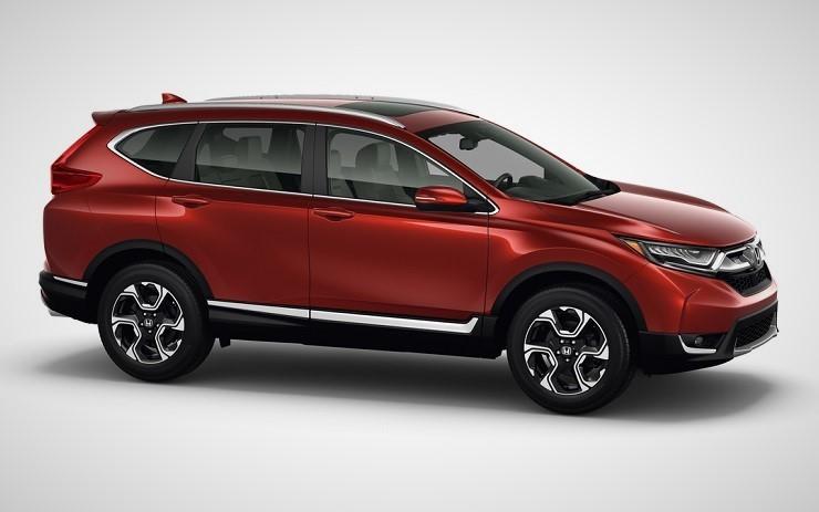 Honda CR-V вид сбоку