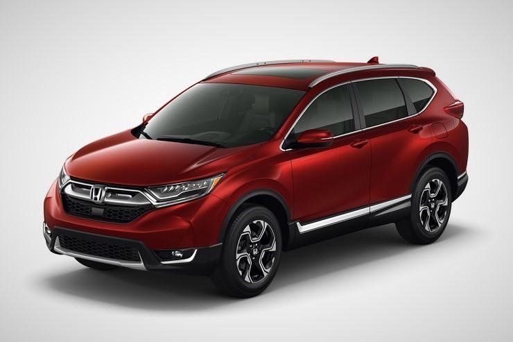 Honda CR-V вид спереди