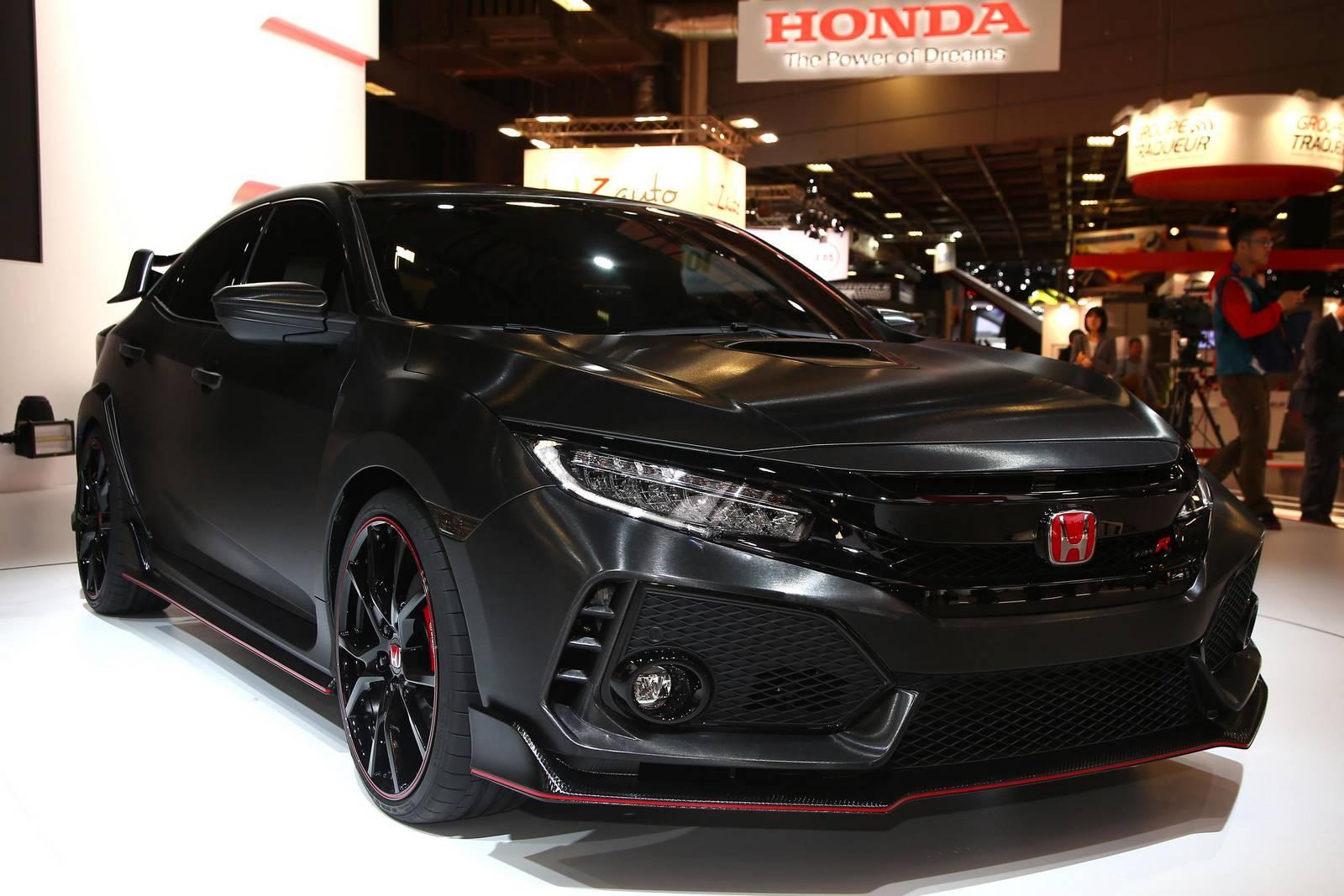 Хонда Цивик спереди