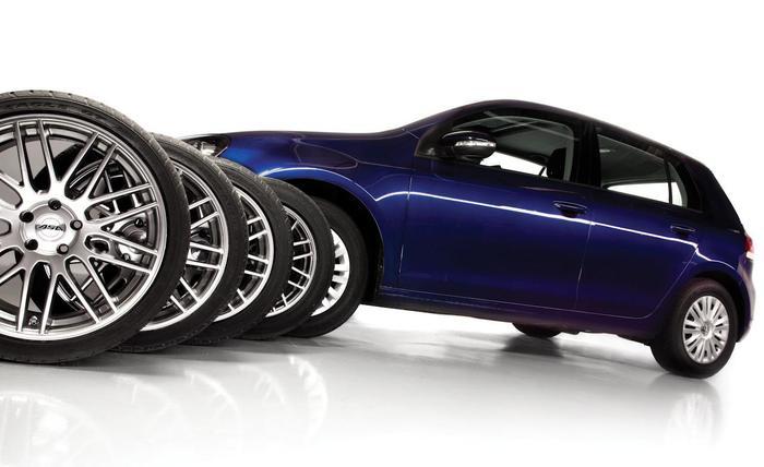 Хранение собранного колеса