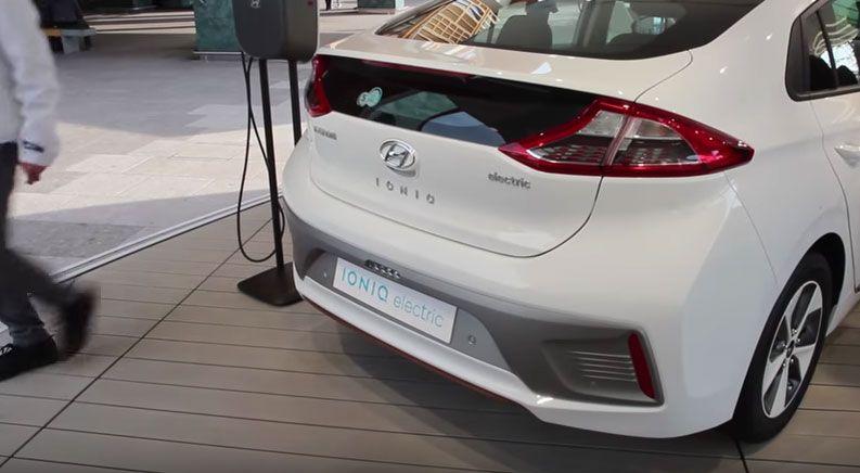 Hyundai IONIQ бампер