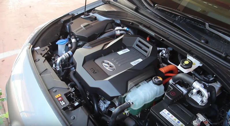Hyundai IONIQ двигатель