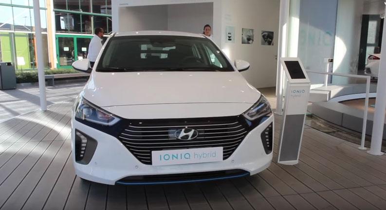 Hyundai IONIQ гибрид
