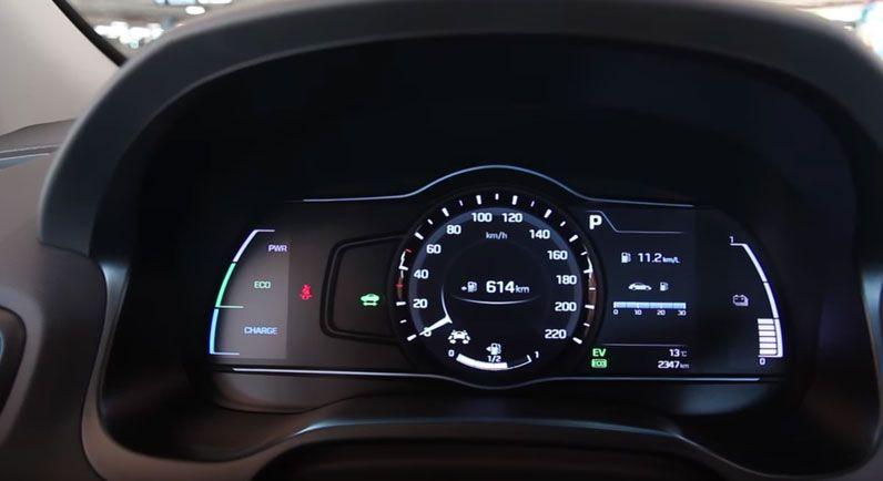 Hyundai IONIQ панель приборов
