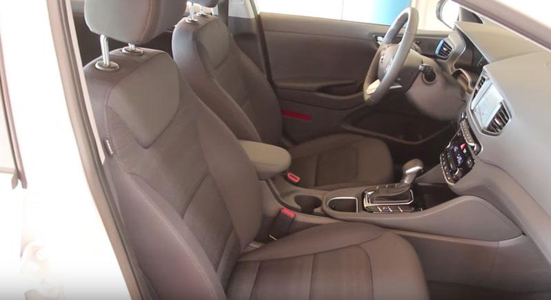 Hyundai IONIQ передние сидения