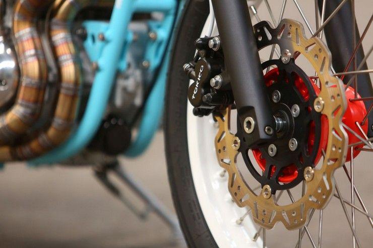 Kawasaki W650 детали колеса