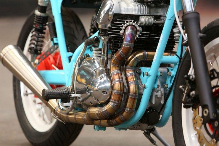 Kawasaki W650 мотор