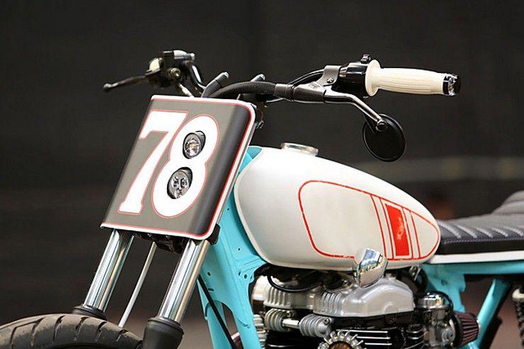 Kawasaki W650 руль