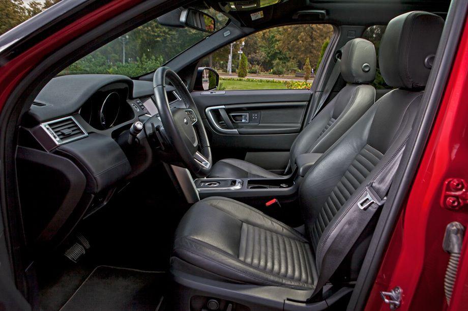 Land Rover Discovery Sport передние сидения