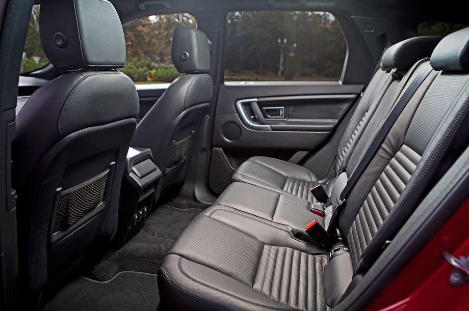 Land Rover Discovery Sport задние сидения
