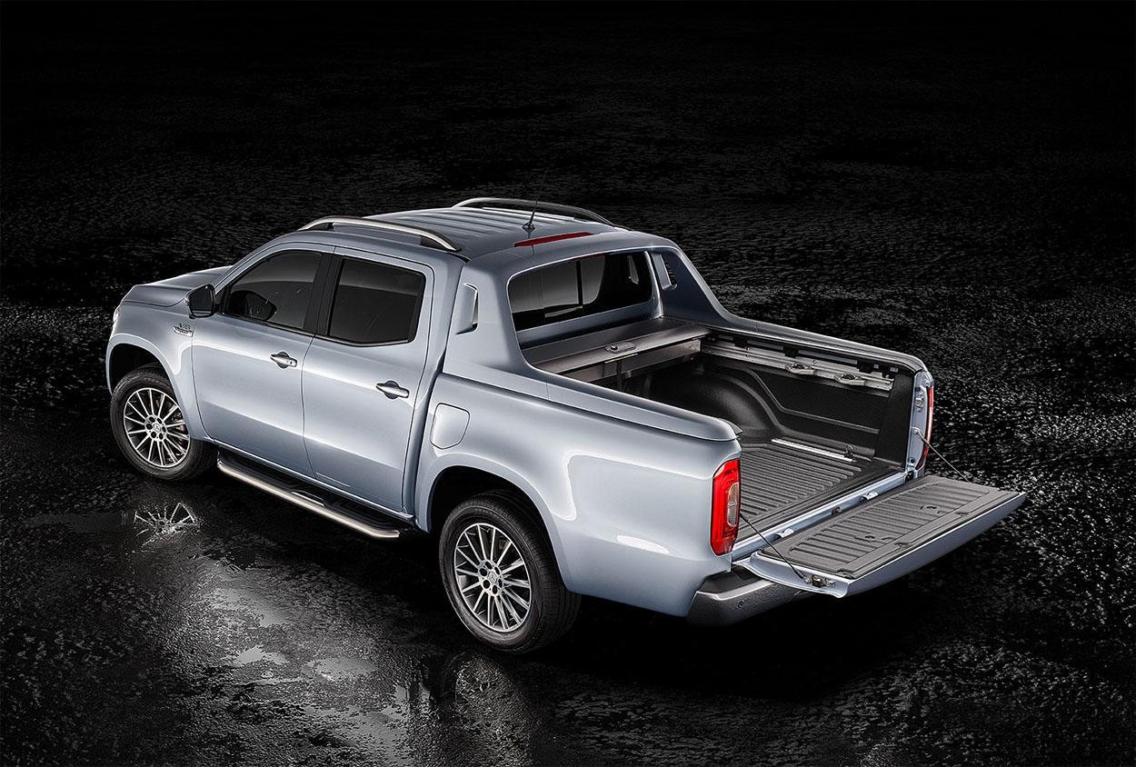 MERCEDES-BENZ X 350 D 2018 фото багажник