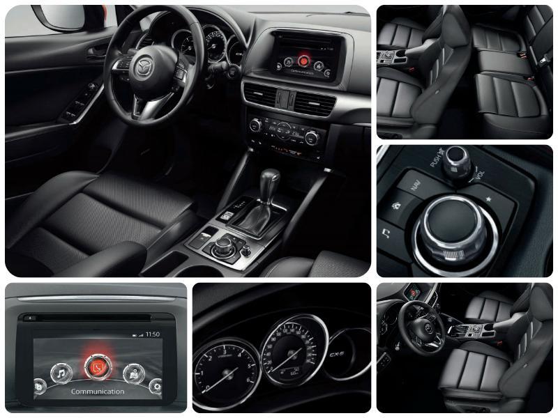 Mazda CX-5 детали салона