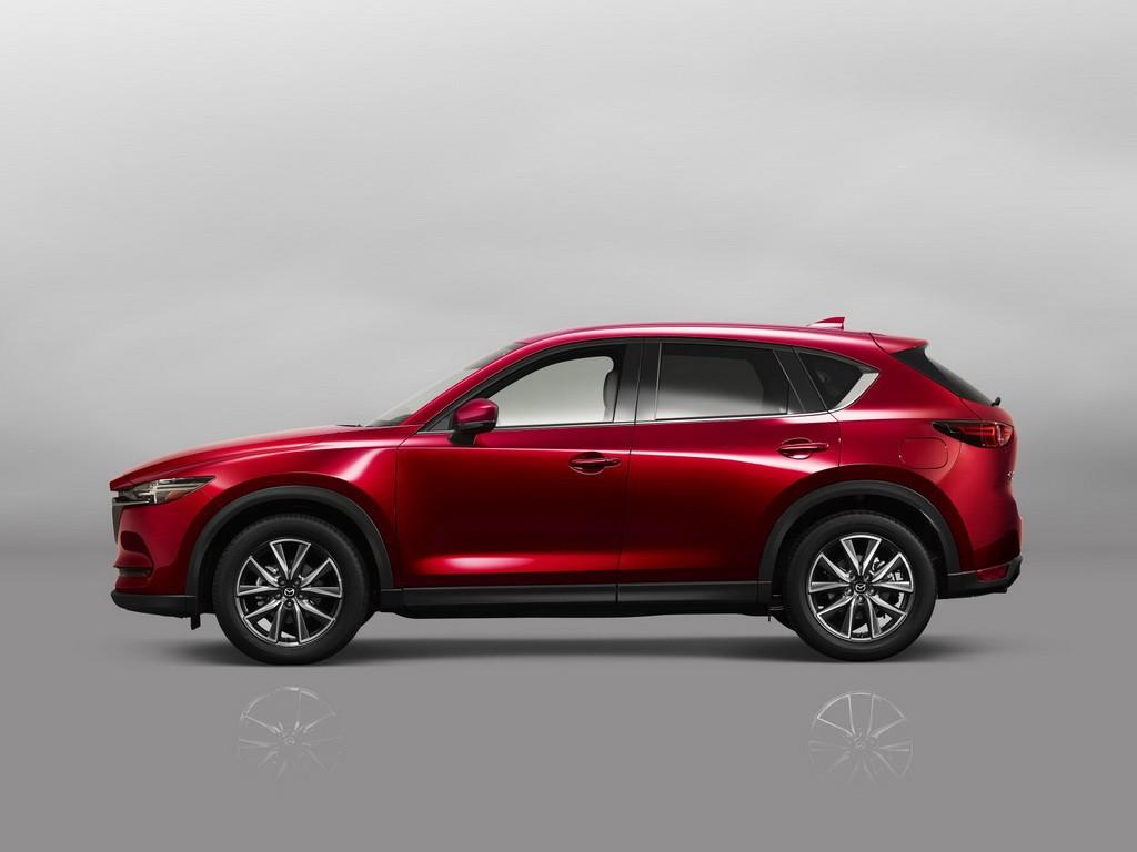 Mazda CX-5 сбоку