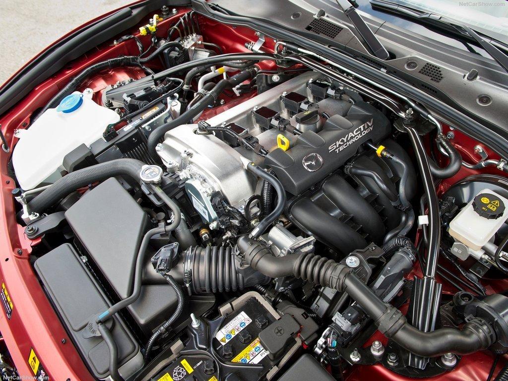 Mazda MX-5 мотор