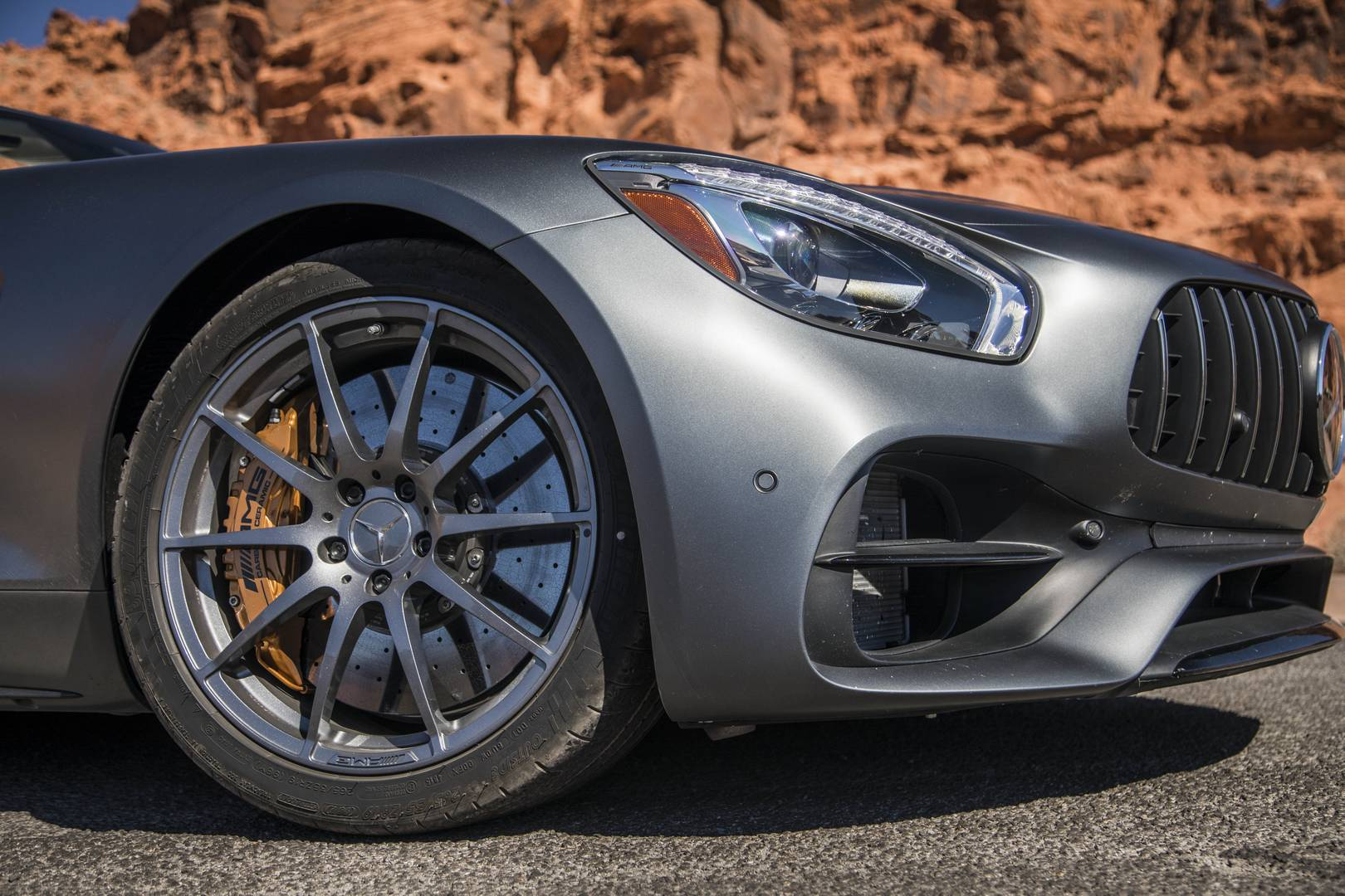 Mercedes-AMG GT C Roadster детали кузова