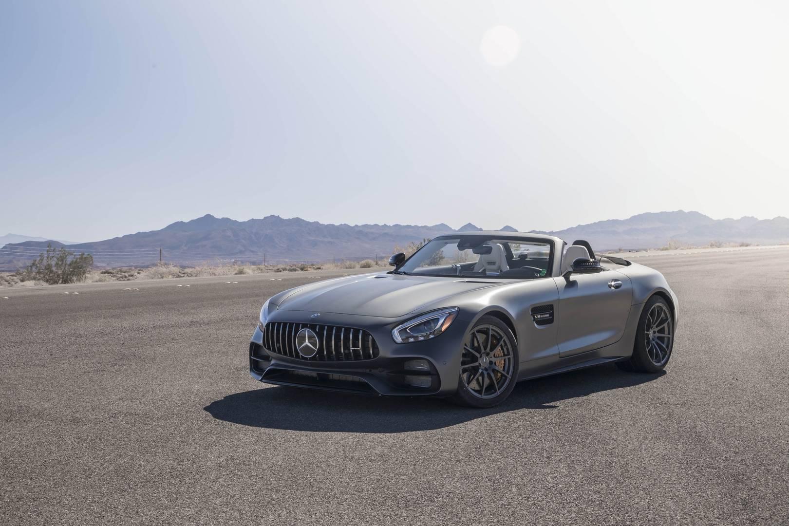 Mercedes-AMG GT C Roadster обзор