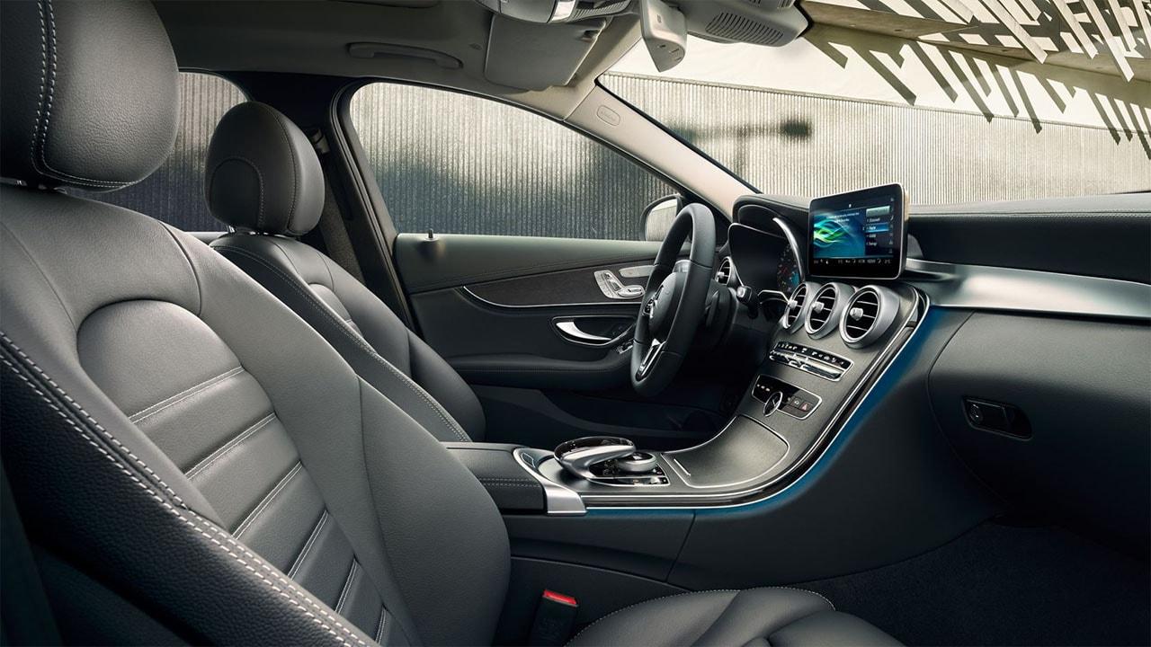 Mercedes C фото салон