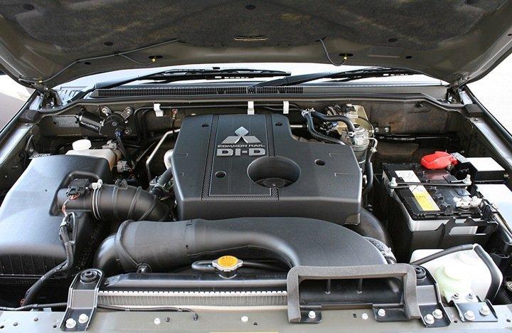 Mitsubishi Pajero двигатель