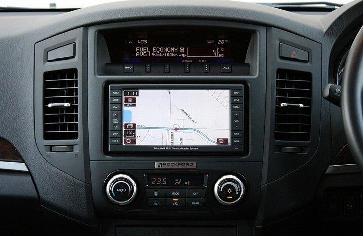 Mitsubishi Pajero мультимедиа