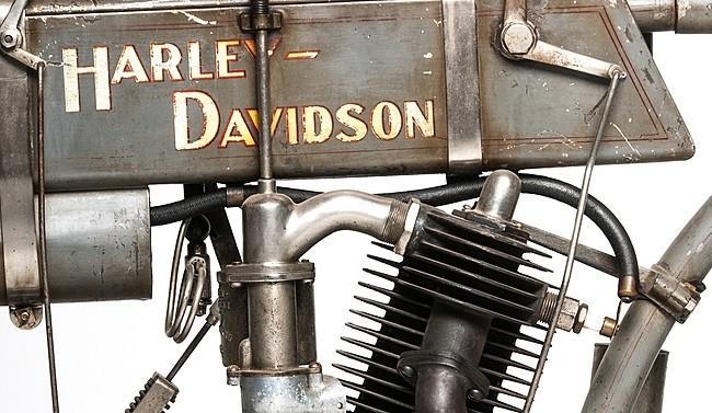 Мотоцикл Харли-Дэвидсон мотор