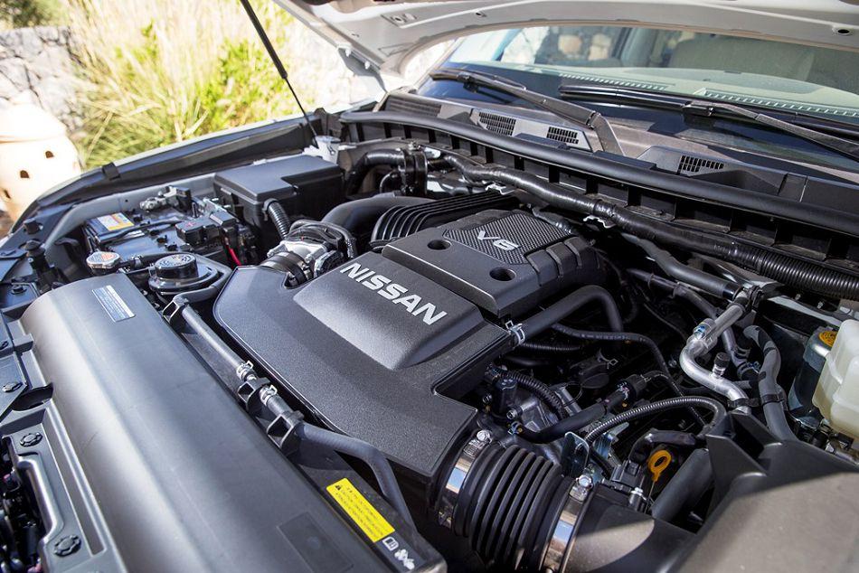 Nissan Patrol 2017 двигатель