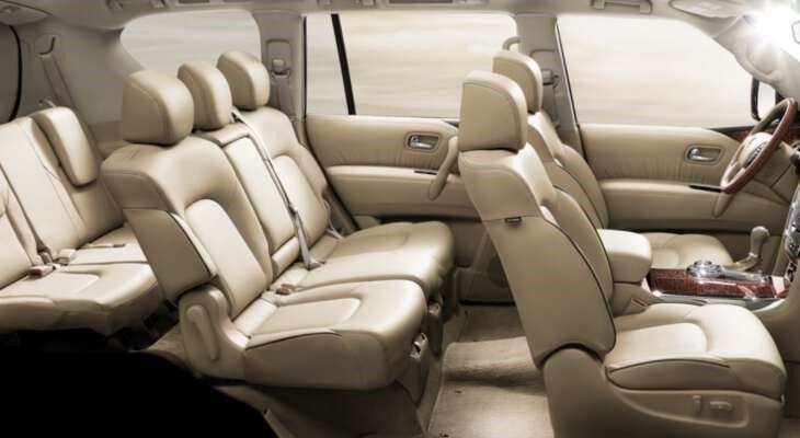 Nissan Patrol фото салон