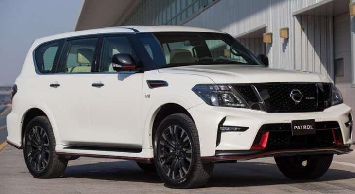 Nissan Patrol фото спереди