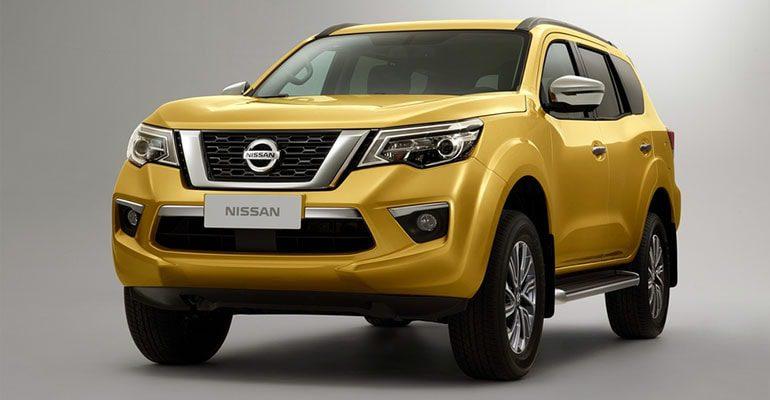 Nissan Terra фото