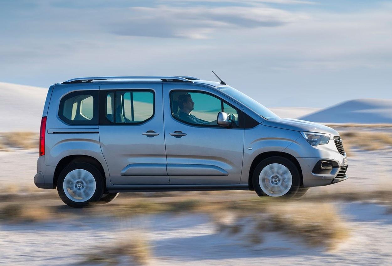 Opel Combo 5 фото сбоку