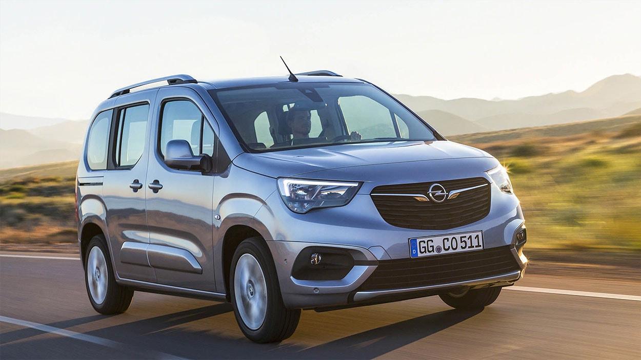 Opel Combo 5 фото спереди